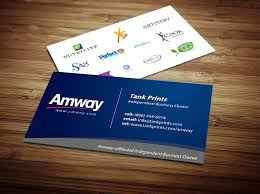Amway Business Cards Template | Amway Business Cards