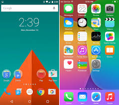 Android 8 Design Ios 8 Vs Android Lollipop Comparison War