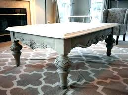 refinished coffee tables painted table ideas cool painting found lovely chalk paint french linen makeover