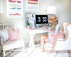 cubicle office decor pink. Unusual Design Ideas Chic Office Decor Best Home Images On Living Room Boss Girly Desk Pretty Cubicle Pink I