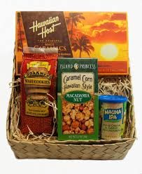 gift baskets hawaiian style at maui pack and ship crazy for mac nuts maui pack ship