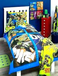 ninja turtles bedding set twin bed sheets turtle colorful kids bedroom sheet be