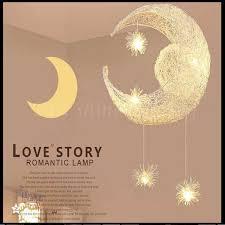 LED G4 Light Source, <b>Moon & Star</b> Lamp <b>Modern</b> Children Kid Child ...