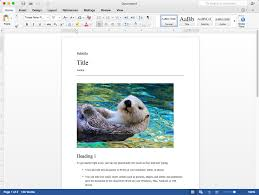 Mircosoft Word For Mac Its About Time Microsoft Releases Free Office For Mac 2016 Preview