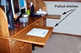 Pullout Desk Shelves You Can Make