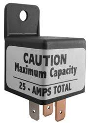 installation instructions for derale 40 60 amp relay d16764 derale 40 60 amp relay
