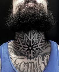 Alex Pellozzo Tattoo Neck тату на шее тату татуировка мандала