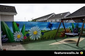 burren view special needs school play ground murals hand painted by professional mural artists featurewalls  on hand painted wall murals artist with mural painting professionals featurewalls ie june 2014