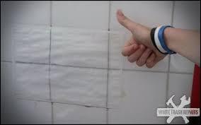 bathroom tile repair. Bathroom Tile Repair T