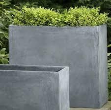outdoor concrete planters angel pot tiny diy