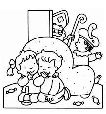Kleurplaten De Zak Van Sinterklaasnl
