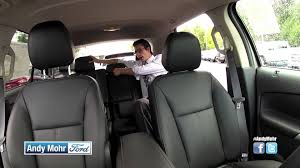 2016 ford edge seating storage one touch hatch power fold down back seat you