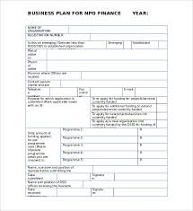 Free Business Plan Templates Word 22 Non Profit Business Plan Templates Pdf Doc Free Premium