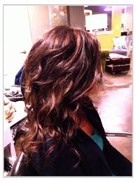 Dark With Copper Highlights