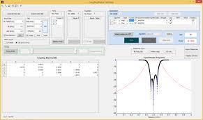 Microwave Filter Design Software Free Coupling Matrix Optimizer File Exchange Matlab Central