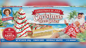 Little debbie christmas treecakes recipe : Little Debbie Christmas Tree Cakes Making Summer Comeback For Christmas In July