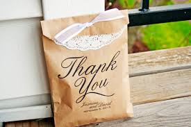 View Larger. Brown Paper Thank You Bags ...