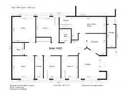 office floor plan maker. Office Space Floor Plan Creator Maker E