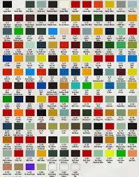 Car Paint Colour Code Chart Car Paint Colour Charts Nz Best Picture Of Chart Anyimage Org