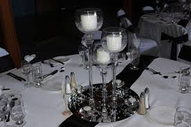 centerpiece 3 wine glass candle holder package