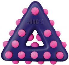 <b>Kong Игрушка</b> для собак <b>Dotz</b> треугольник малый 11 см купить по ...