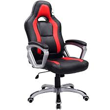 comfort office chair. brand new designed racing sport swivel office chair in black red colour comfort t