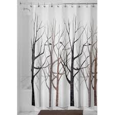 Brown And Gray Shower Curtain - Home Design - Mannahatta.us