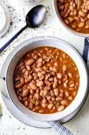 slow cooker pinto beans pickled plum