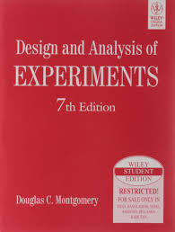 Montgomery Dc Design And Analysis Of Experiments Design And Analysis Of Experiments 7th Ed 9788126528370