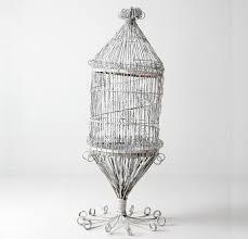 antique victorian bird cage large metal