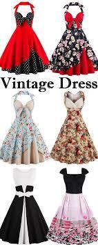 Halter Vintage Floral Polka Dot Dress Rockabilly 50s Pinterest