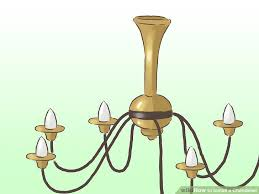 how to install a chandelier pictures wikihow image titled install a chandelier step 13