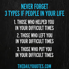 quotes about the types of people in your life
