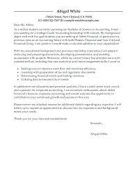 Cover Letter For Resume For Internship Job Application Letter For ...