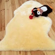 baby irish lambskin rug size 80cm
