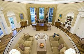 us president office. President Obama\u0027s Redecorated Oval Office Us S