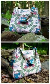 Ethel Tote-Free Purse Pattern from Swoon Patterns | FREE sewing ... & Ethel Tote-Free Purse Pattern from Swoon Patterns | FREE sewing patterns |  Pinterest | Purse, Patterns and Free Adamdwight.com