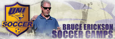 Bruce Erickson Soccer Camps At Unversity Of Northern Iowa