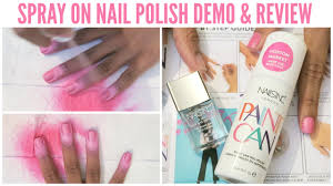 DOES IT WORK?! - Nails Inc 'Paint Can' Spray On Nail Polish Demo ...