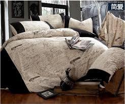 vintage comforter sets queen throughout linen black and white bedding set size duvet designs architecture
