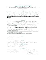 Professional Objective For Nursing Resume Nmdnconference Com