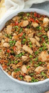 chicken and rice dinner recipes. Plain Recipes This One Pot Teriyaki Chicken Rice And Vegetables Is An Easy Family  Friendly Meal Inside Chicken And Dinner Recipes