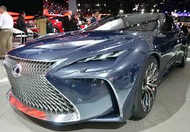 the lexus lf fc is a hydrogen powered future machine