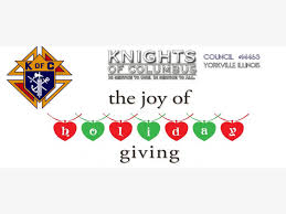 the knights of columbus yorkville is offering holiday gift help