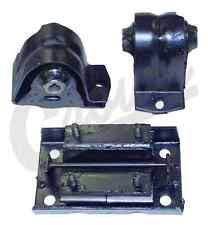 jeep wrangler motor mounts jeep wrangler tj 1997 2006 motor transfer mount kit 4 0 l 6 cylinder engine