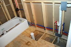 bath plumbing rough in. rough in bathroom plumbing simple on floor regarding bath installing a bathtub help m