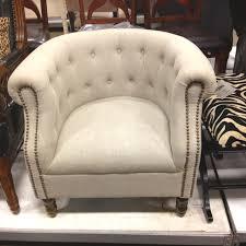 linen club chair tuesday morning