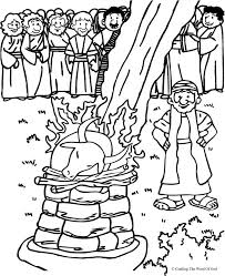 Carmel 1 kings 18 i've never gotten to see a shuttle launch live, but i have got to see it on tv. Elijah On Mount Carmel Coloring Page Coloring Home