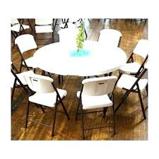 round folding tables at sams lifetime inch round folding table commercial stacking pack white granite fold