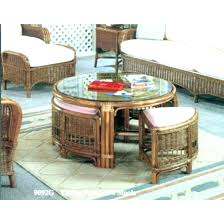glass coffee table with stools underneath coffee table with 4 stools round coffee table with seats